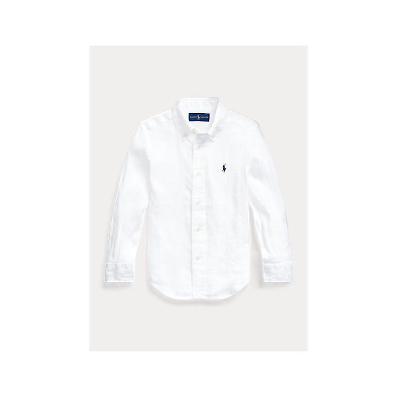 Polo Kids - Camicia Basic Lino