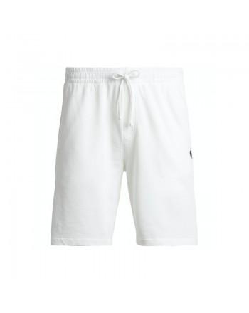 POLO RALPH LAUREN  -  fleece Bermuda Shorts - White -