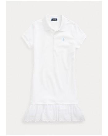 POLO KIDS - Lace Polo Dress