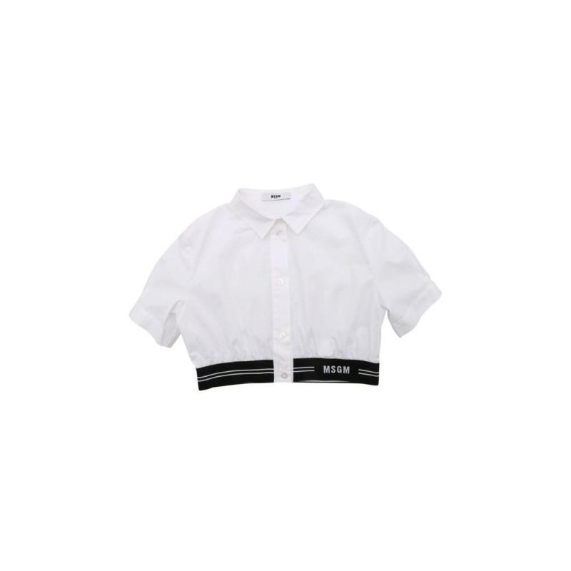 S MAX MARA - Pantalone in Cotone e Viscosa PACCA - Bianco Primavera