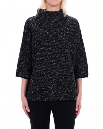 MAX MARA - LUIS sweater in pure new wool - Black