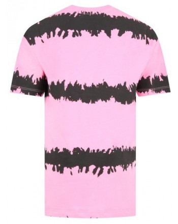 MSGM Baby -Dress With short sleeves - Pink/ Black