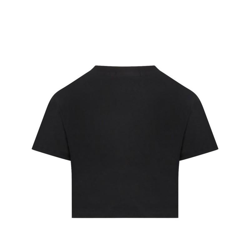 Msgm Baby - T-shirt With Logo - Black