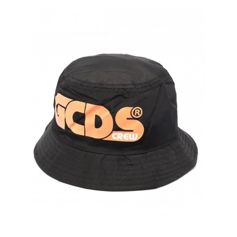 Gcds Mini - Cappello Cloche Con Stampa - Nero