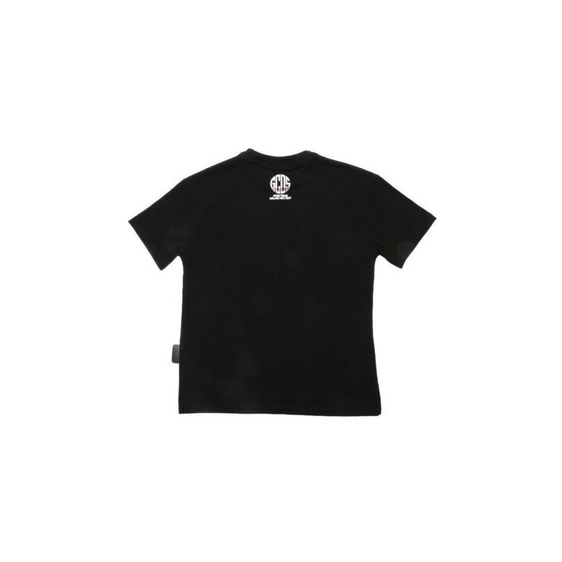 GCDS Mini - T-shirt with print - Black