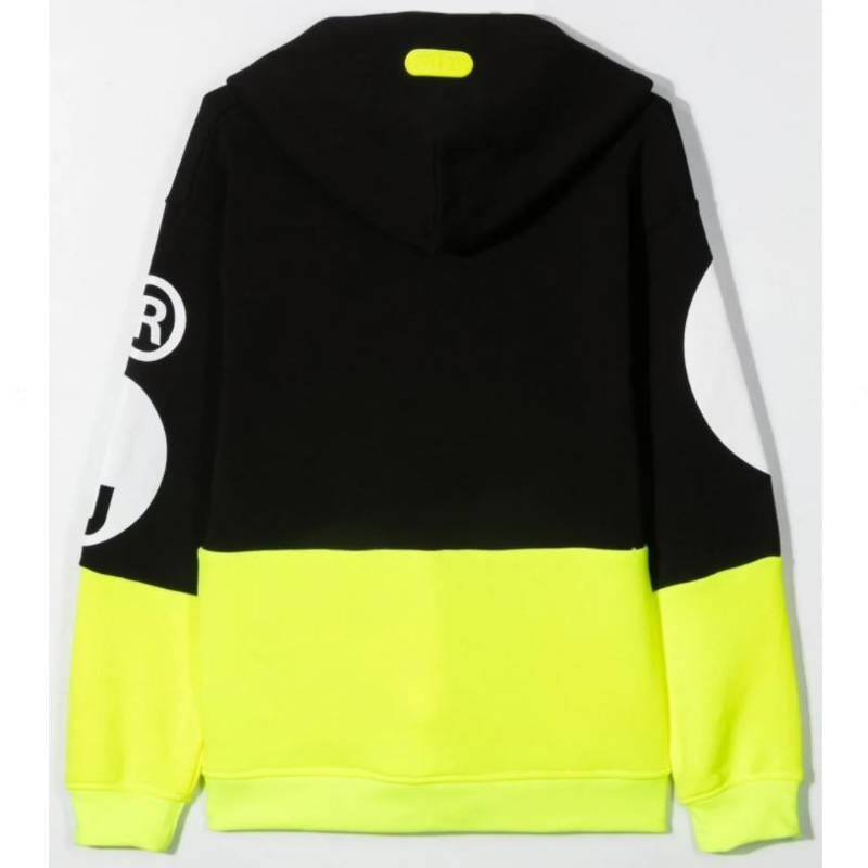 GCDS Mini - HOODIE - Black/Yellow