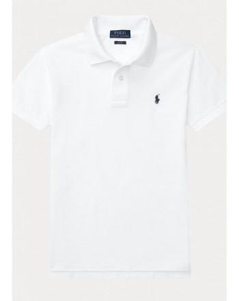 POLO KIDS - Basic Polo Shirt - White