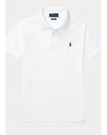 POLO KIDS - Polo Basic - Bianco -