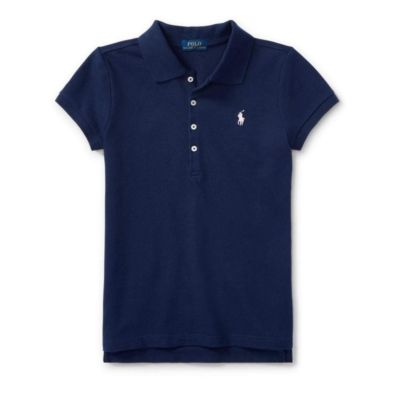 POLO KIDS - Basic 5-Button Polo Shirt