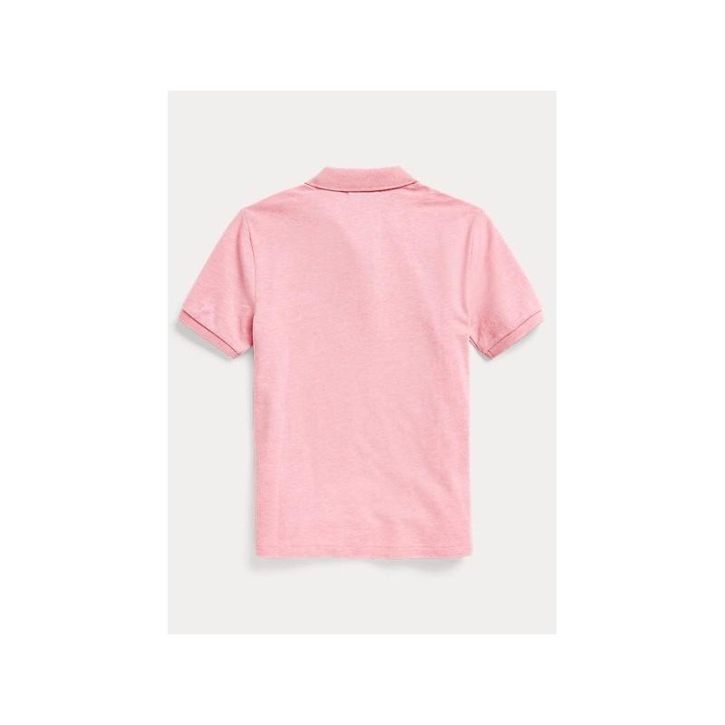 POLO KIDS - Basic Polo Shirt - Pink -