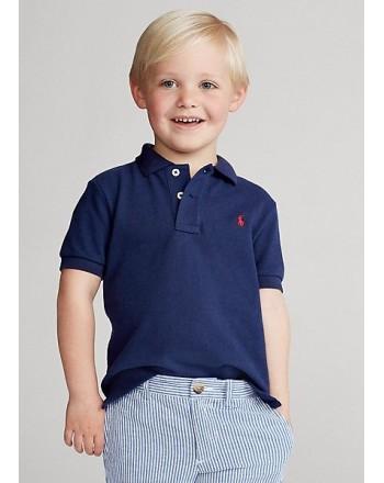 POLO KIDS - Basic Polo Shirt - Blue -