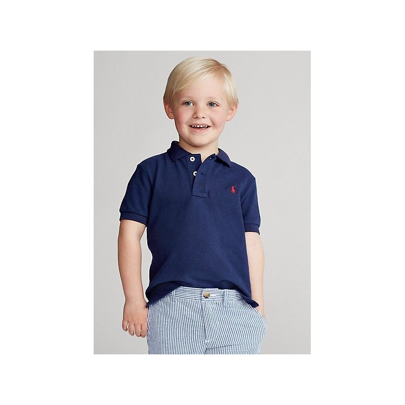 POLO KIDS - Polo Basic - Blu -
