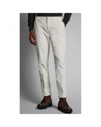 FAY - Pantalone in Velluto - Ghiaccio