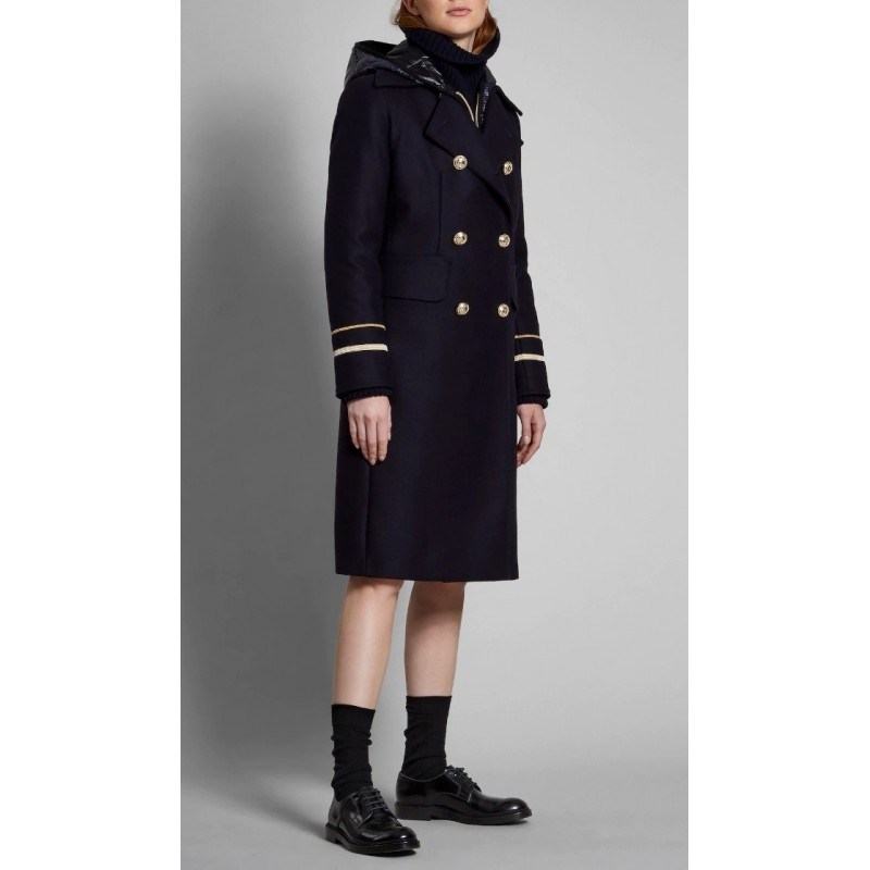 FAY - Cappotto NAVY COAT - Blu