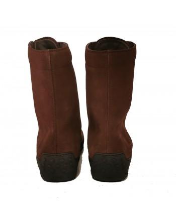 TOD'S - Suede Boots - Dark Brown
