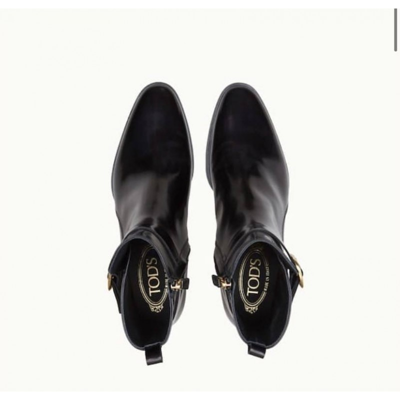 TOD'S - Ankle heels boots - BLACK