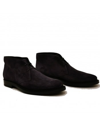 TOD'S - Suede Boots - Blue