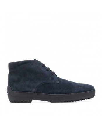 TOD'S - Suede Winter Boots - Blue
