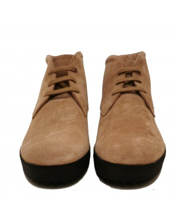 TOD'S - Suede Winter Boots - Biscuit Brown