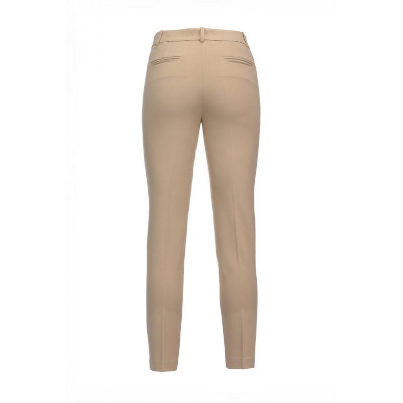 PINKO - Pantalone in Punto Stoffa BELLO 88 - Beige