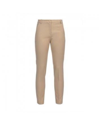 PINKO - Full Milano Trousers BELLO 88 - Beige
