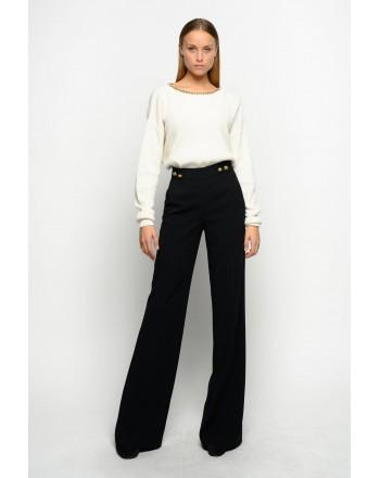 PINKO - SBOZZARE 3 Trousers - BLACK