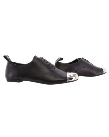 LOVE MOSCHINO -DERBY Shoes - BLACK