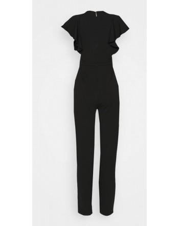 MICHAEL BY MICHAEL KORS - ELV FRONT TWIST Jumpsuit - BLACK