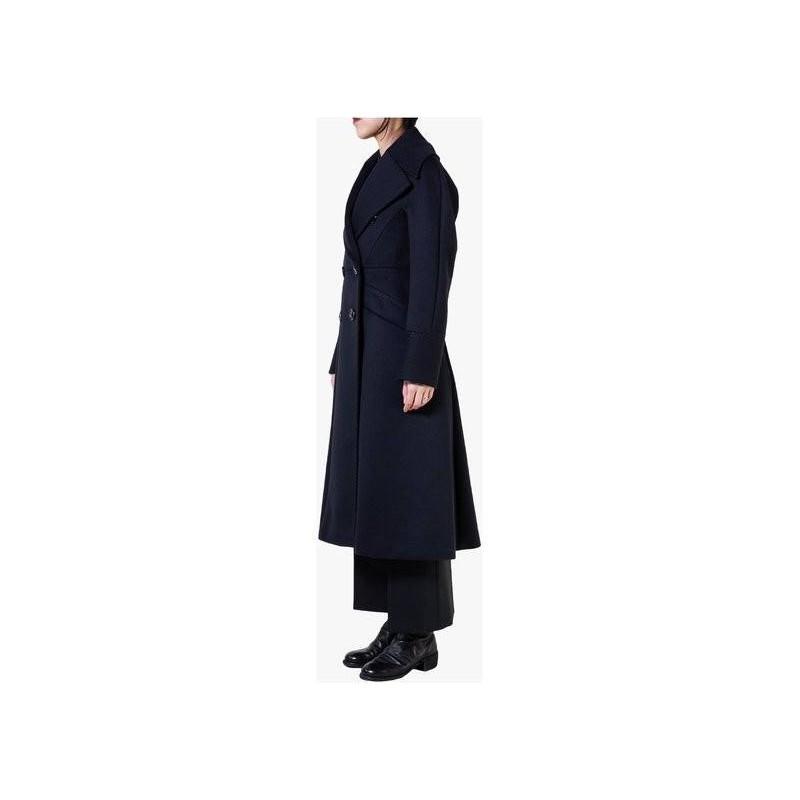 MAX MARA - July wool and cashmere coat - Blue