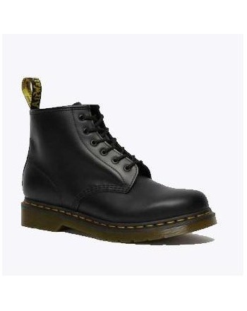 DR. MARTENS - 101 SMOOTH Boots with Laces - Black