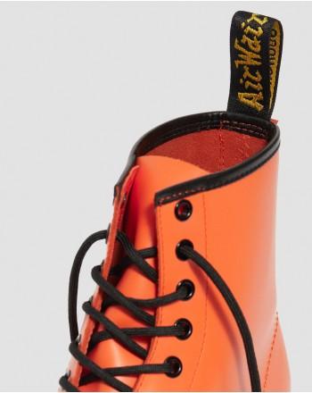 DR. MARTENS - Stivale 8 Occhielli 1460 SMOOTH -  Arancione