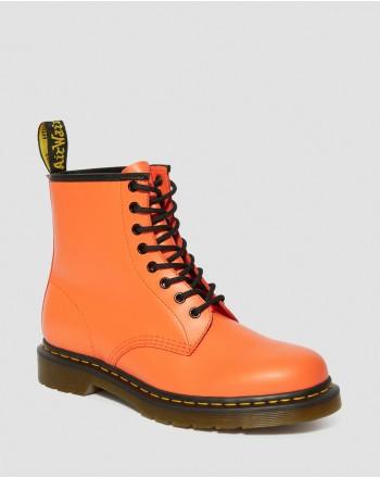 DR. MARTENS - 8 Eyelets1460 SMOOTH Boots - Orange