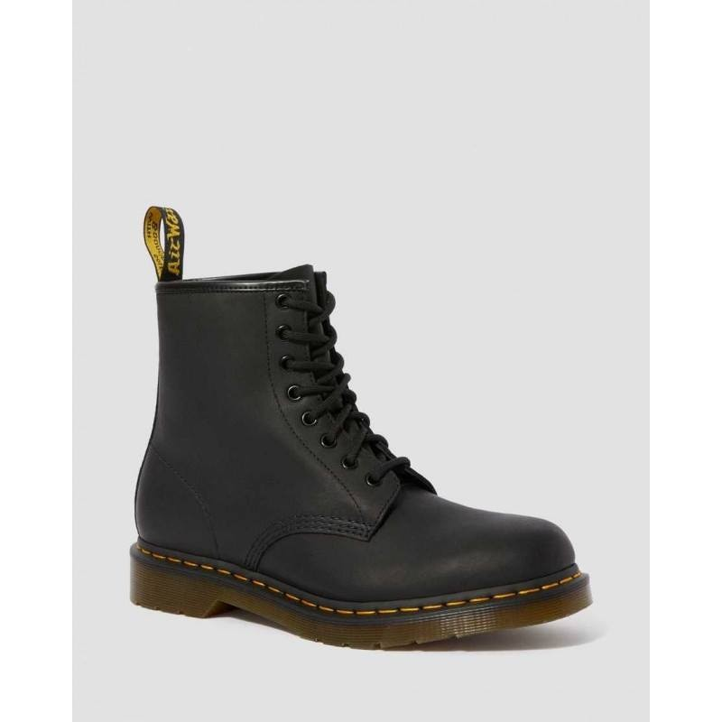 DR.MARTENS - 1460 SMOOTH boots  - Greasy Black