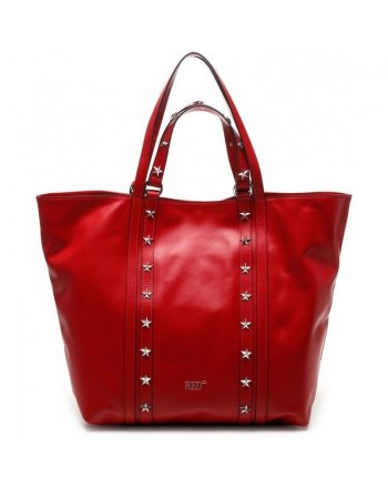 RED VALENTINO - Shopping bag TOTE - RED KISS