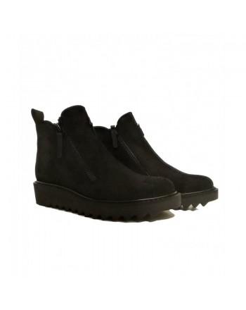 GIUSEPPE ZANOTTI - Suede shoes - Balck