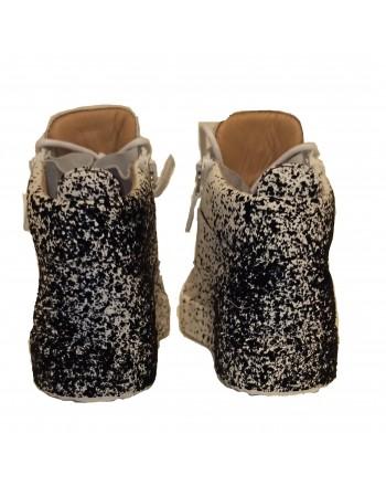 GIUSEPPE ZANOTTI - BIREL leather sneakers - White