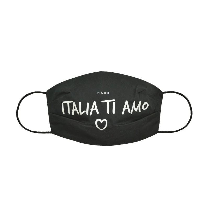 PINKO - MALIZIA Mask - Black/White