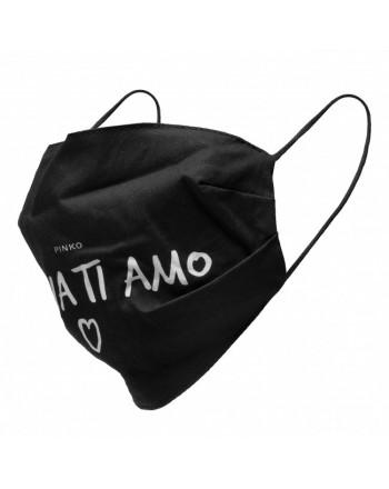 EMPORIO ARMANI -Cintura in pelle con Fibbia Logata - Nero