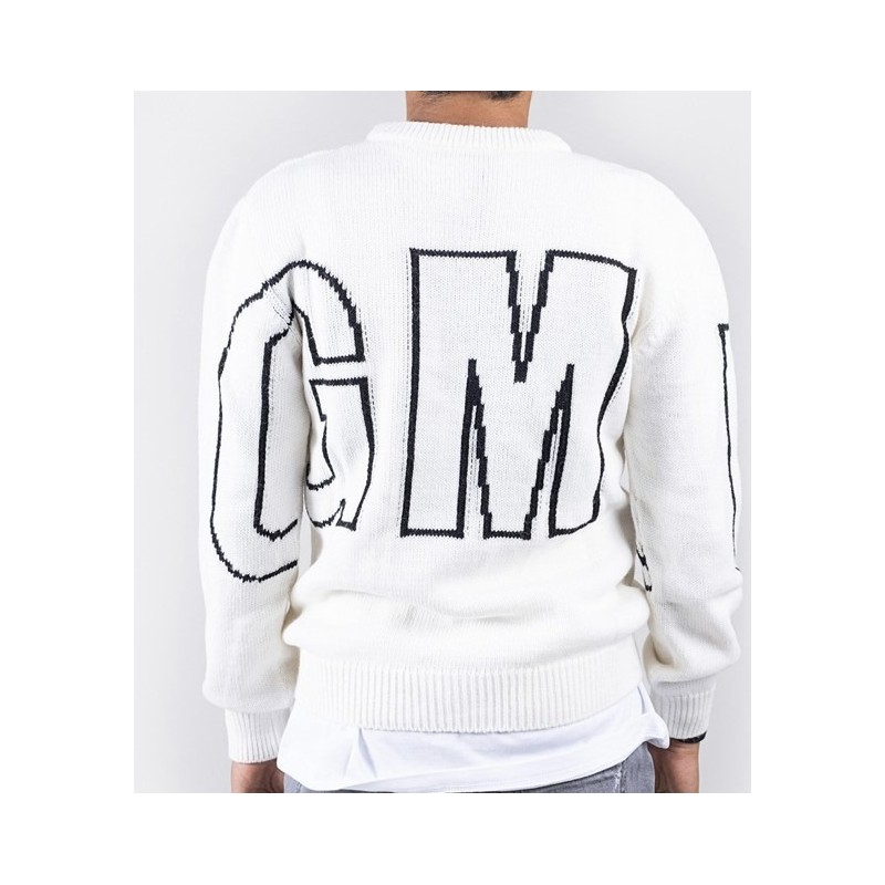 MSGM Baby -  Logoed pullover - WHITE