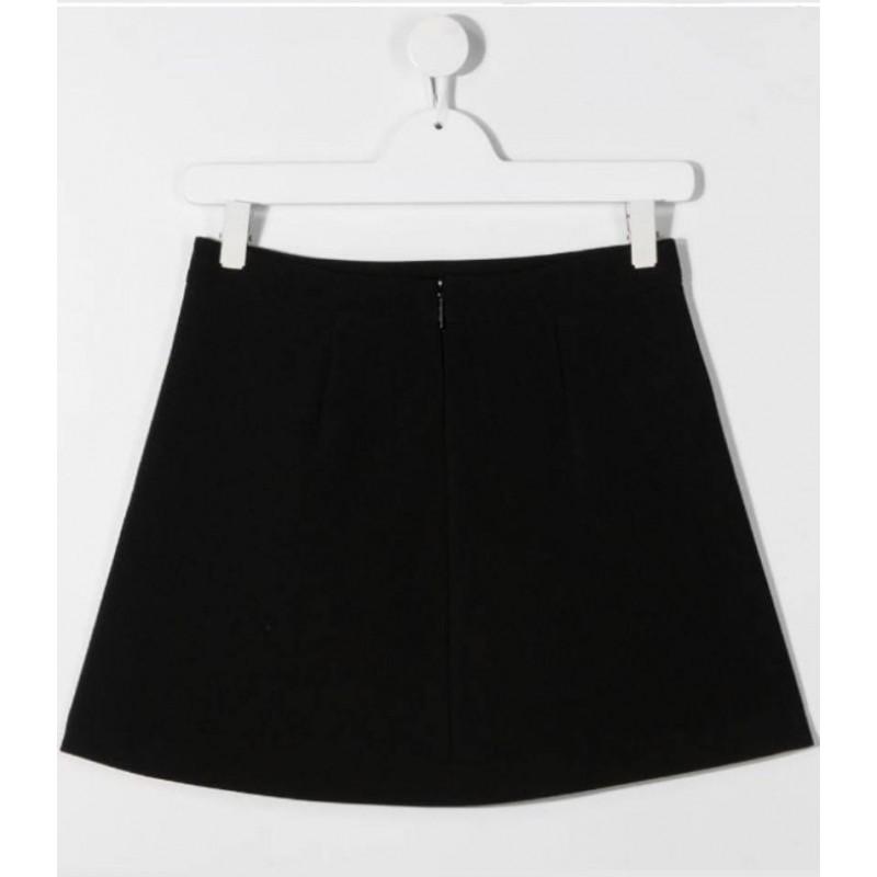 MSGM Baby -  Skirt with print - BLACK