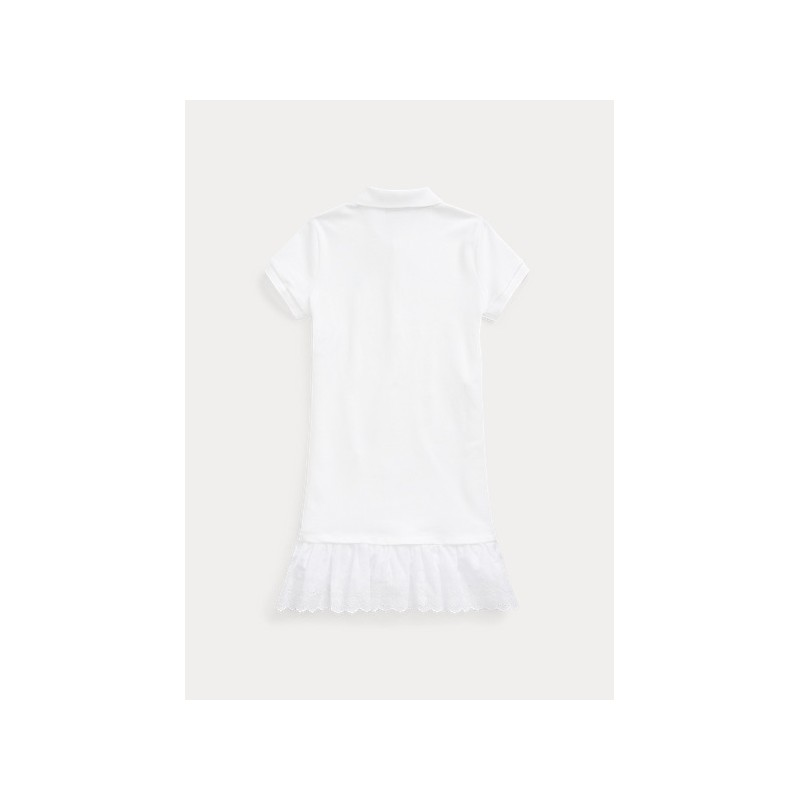 POLO KIDS - Lace Polo Dress