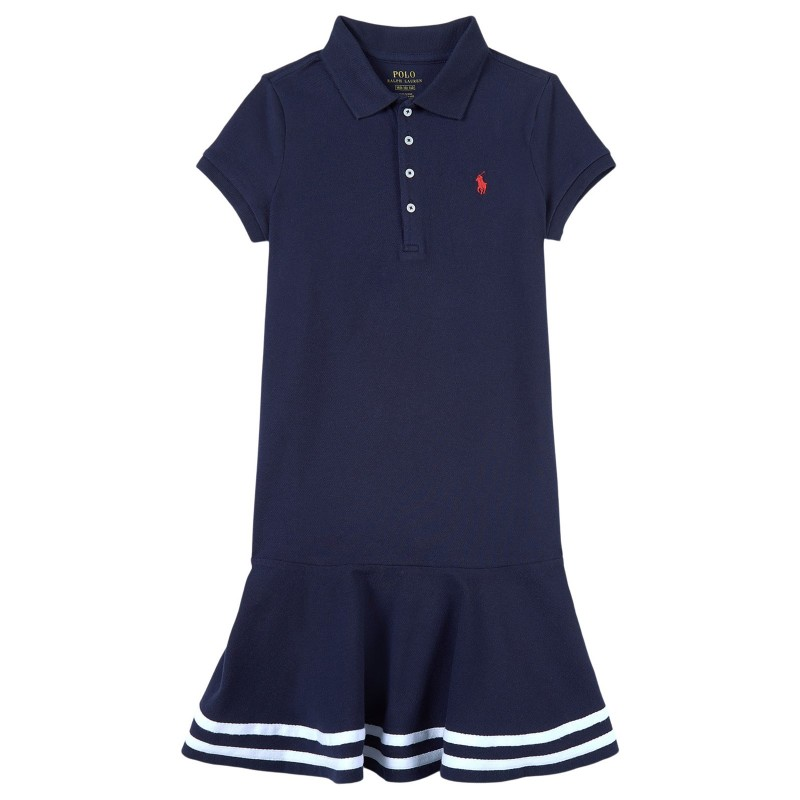 POLO KIDS - Polo Dress - Blue -