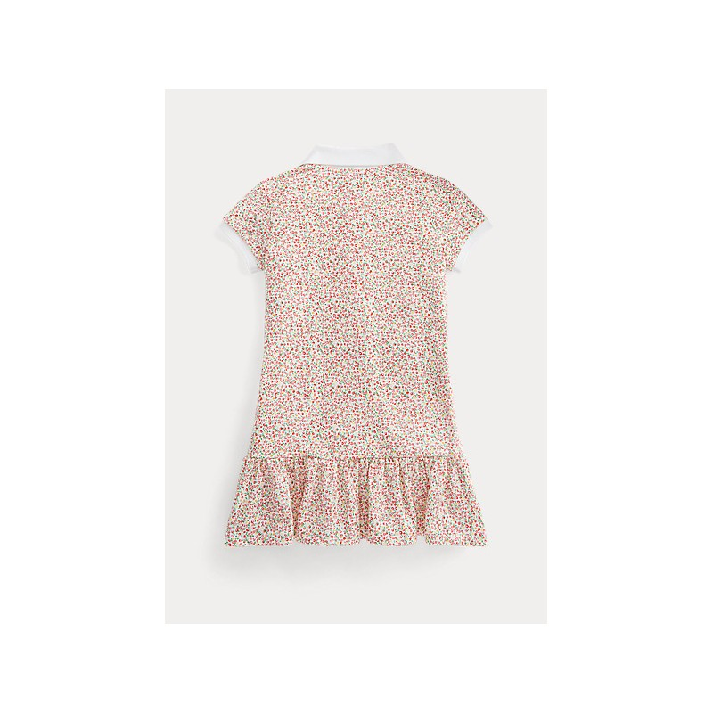 POLO KIDS - Flowery  Polo Dress