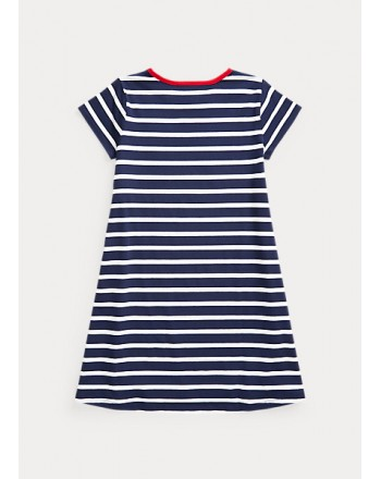 POLO KIDS - Striped Cotton dress
