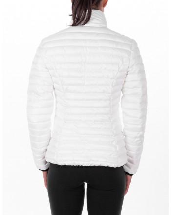 ROSSIGNOL - Piumino corto con Logo laterale - Bianco