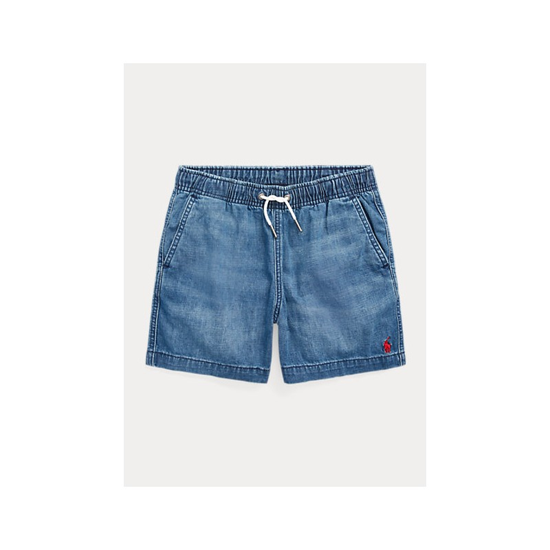 POLO KIDS - Short Cotton Jeans