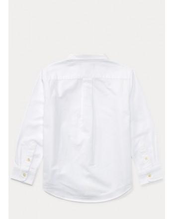 POLO KIDS - basic pinpoint cotton shirt