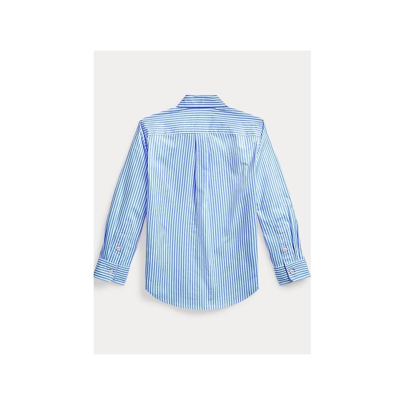 POLO KIDS - basic striped cotton shirt