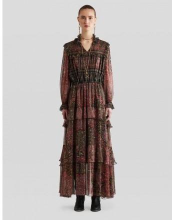 ETRO - Silk BRETON Dress with Paisley Pattern - Multicolor