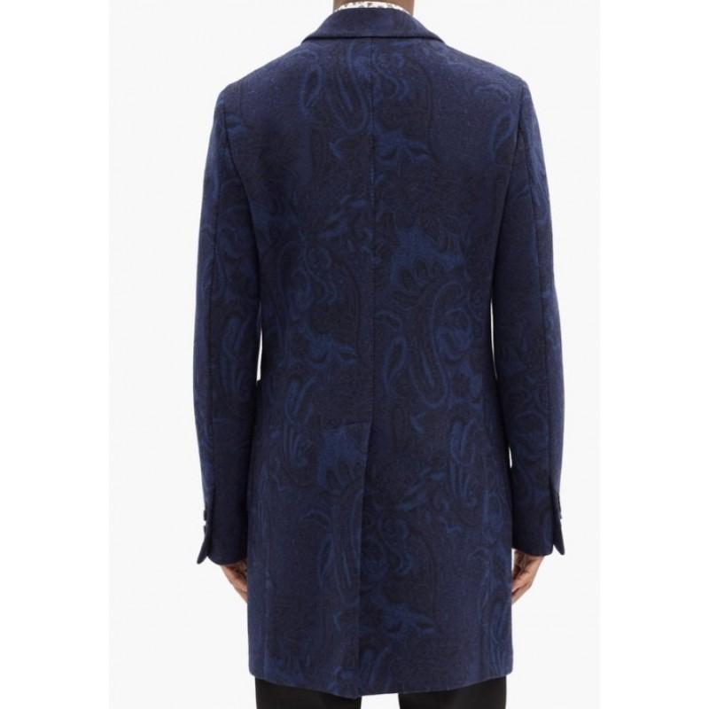 ETRO - Paisley -Jacquard Coat - FANTASY